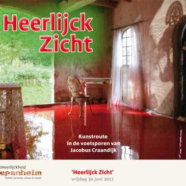 Werk van Bert Vogels bij 'Heerlijck Zicht' in Diepenheim