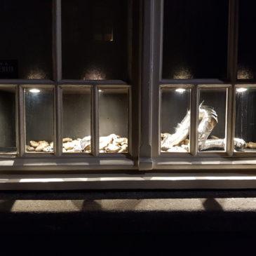 Ank van Engelen in de Microgalerie
